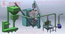 JHL1000自动化粉体生产线