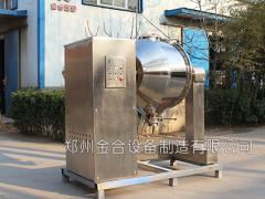 高新材料的发展与高效三维混合机的关系密切