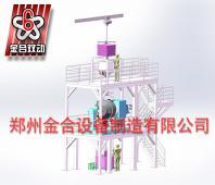 JHL-3000双运动混合机自动化混合生产线
