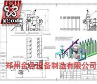 内蒙古JHL1500L奶茶自动化粉体混合生产线