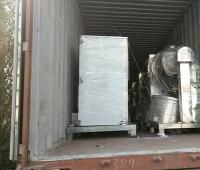 泰国客户购买12套JHX-P 100L医药喷液双运动混合机