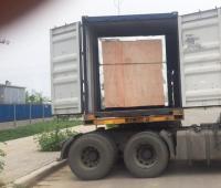 河北茶粉JHX双运动三维混合机发货了40HQ英寸运输箱