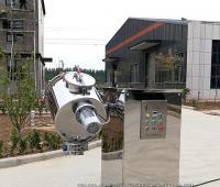 JHF型高速双运动飞刀混合机正在装运中,直达江苏客户厂里