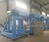 精细化工双运动卧式混合机整装就绪发往宁波客户工厂