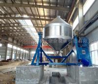 安徽客户的还原铁粉混合设备调试成功
