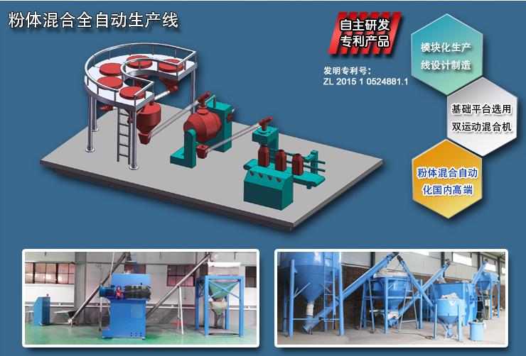 自动化混合机生产线